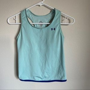 Under Armour Workout Tank Top Blue